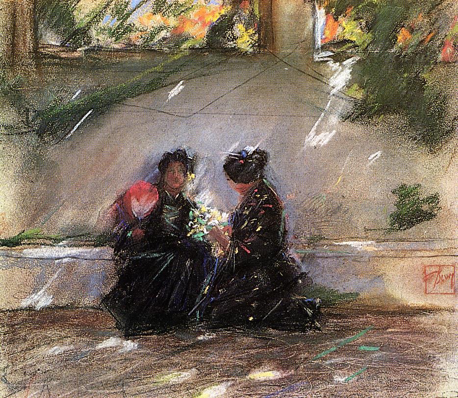 Repose | Robert Frederick Blum | Oil Painting