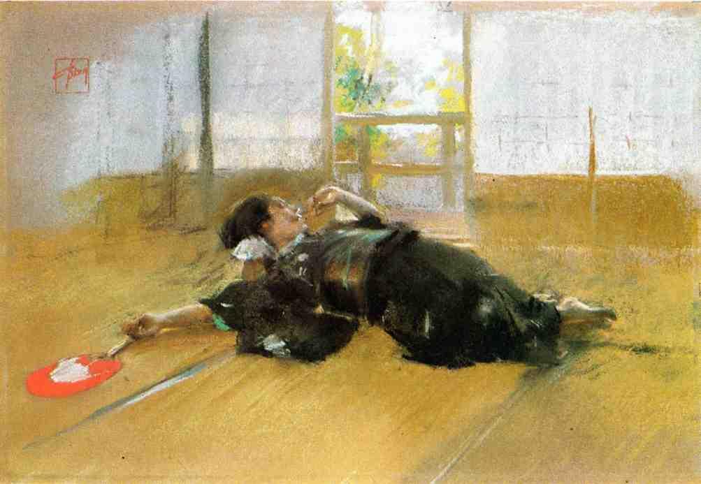 Repose2 | Robert Frederick Blum | Oil Painting