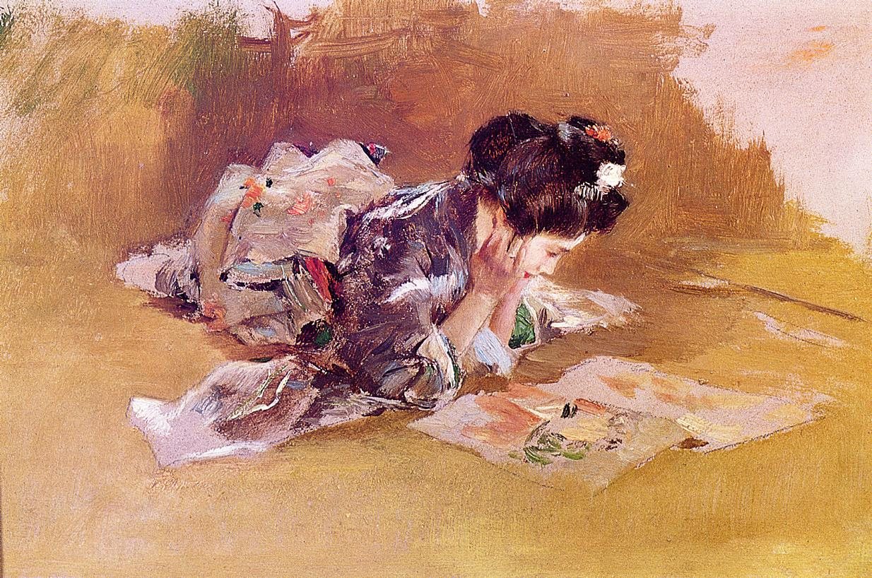 The Picture Book  1891-1893 | Robert Frederick Blum | Oil Painting
