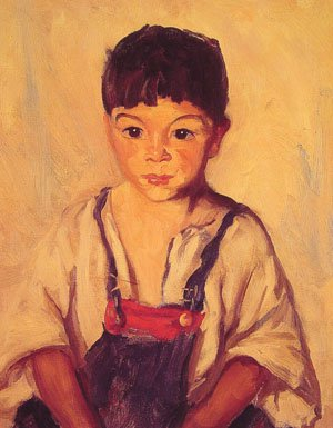 Gypsy Boy | Robert Henri | Oil Painting