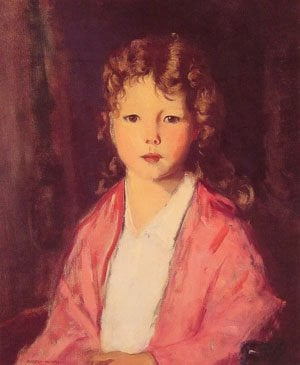 Portrait of Jean McVitty | Robert Henri | Oil Painting