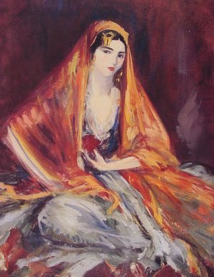 Roshanara | Robert Henri | Oil Painting