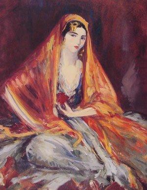 Roshanara | Robert Henri | Oil Painting