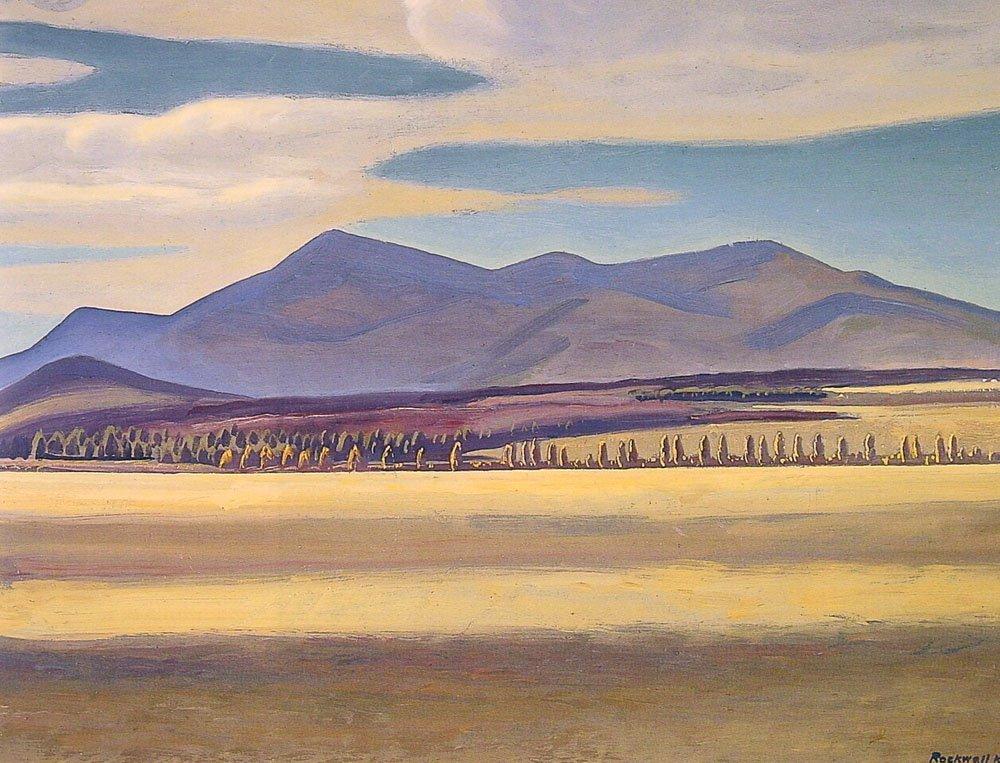 Mount Whiteface Asgaard | Rockwel Kent | Oil Painting
