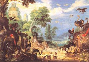 Landscape With Birds 1628 | Roelandt Savery | Oil Painting