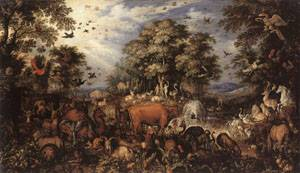 The Paradise 1626 | Roelandt Savery | Oil Painting