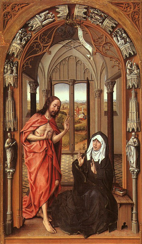 Christ Appearing To His Mother | Rogier Vander Weyden | Oil Painting