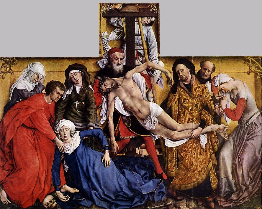 Descent From The Cross | Rogier Vander Weyden | Oil Painting