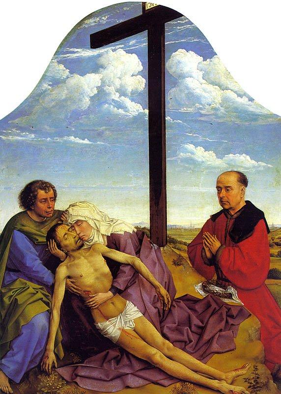 Pieta | Rogier Vander Weyden | Oil Painting
