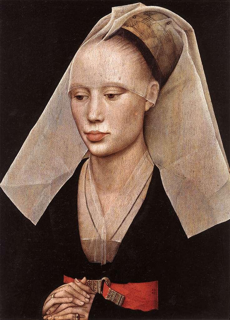 Portrait Of A Lady | Rogier Vander Weyden | Oil Painting