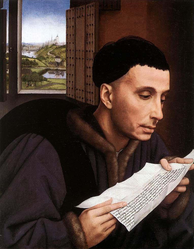 St Ivo | Rogier Vander Weyden | Oil Painting