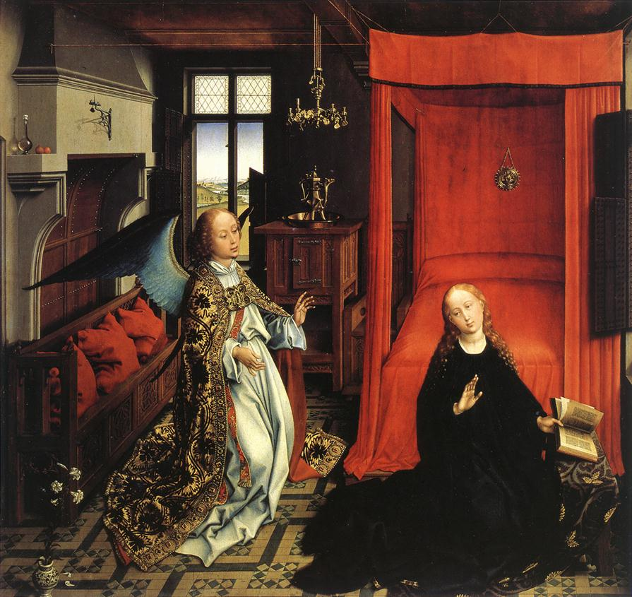 The Annunciation | Rogier Vander Weyden | Oil Painting