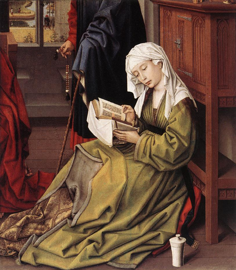 The Magdalen Reading | Rogier Vander Weyden | Oil Painting