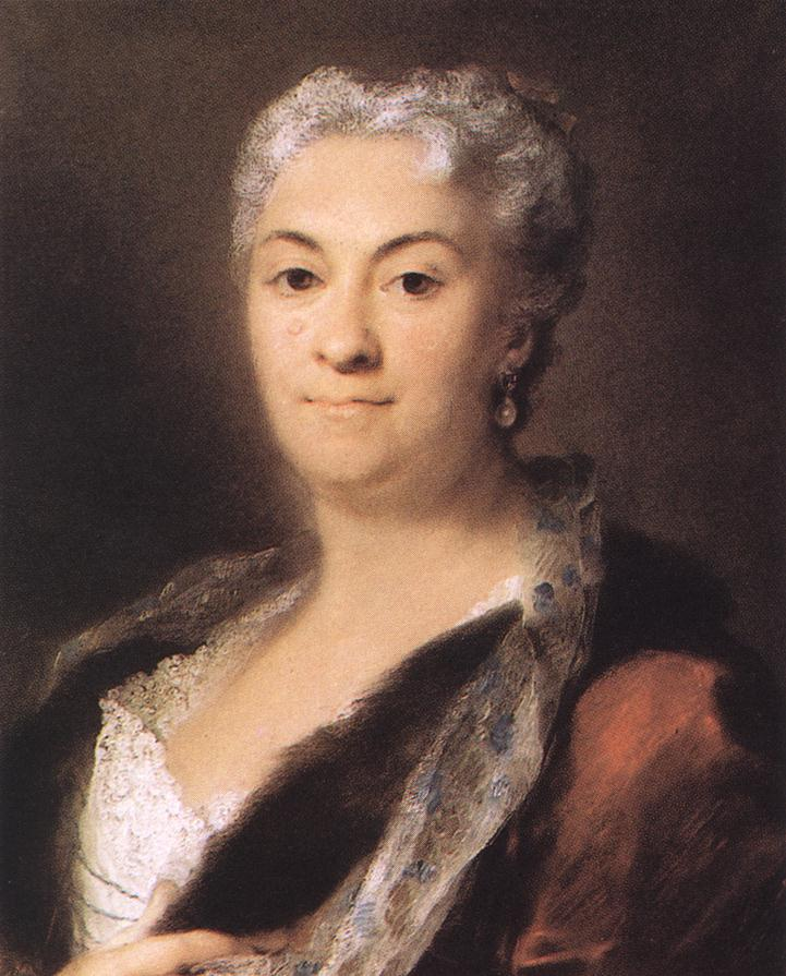 Elderly Lady 1740 Pastel On Paper | Rosalba Carriera | Oil Painting