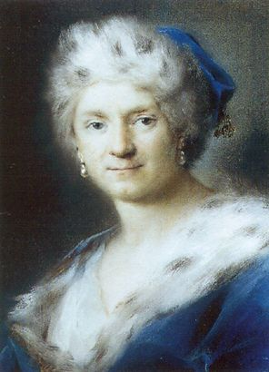 Self Portrait As Winter 1731 | Rosalba Carriera | Oil Painting