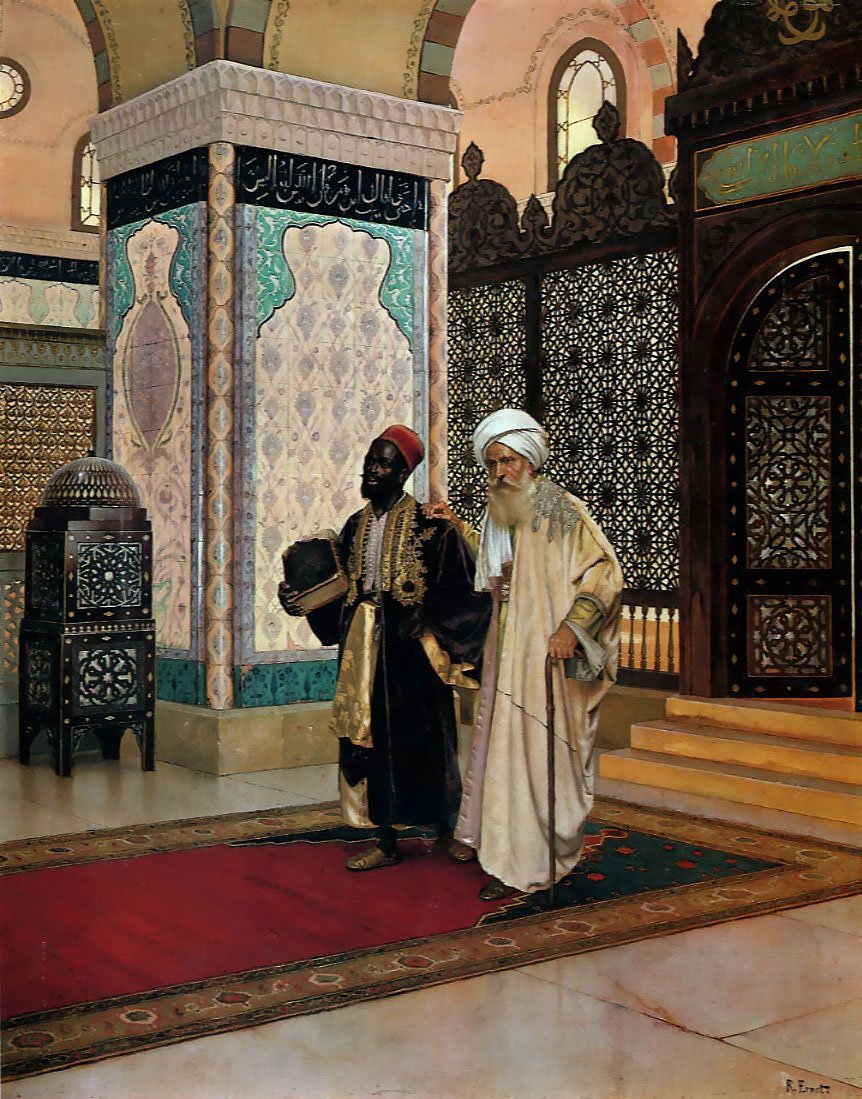 After Prayer | Rudolf Ernst | Oil Painting