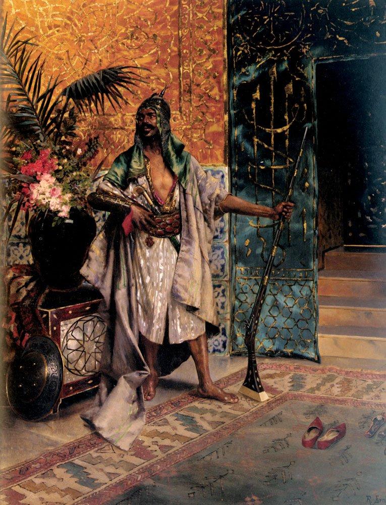 Harem Guard | Rudolf Ernst | Oil Painting