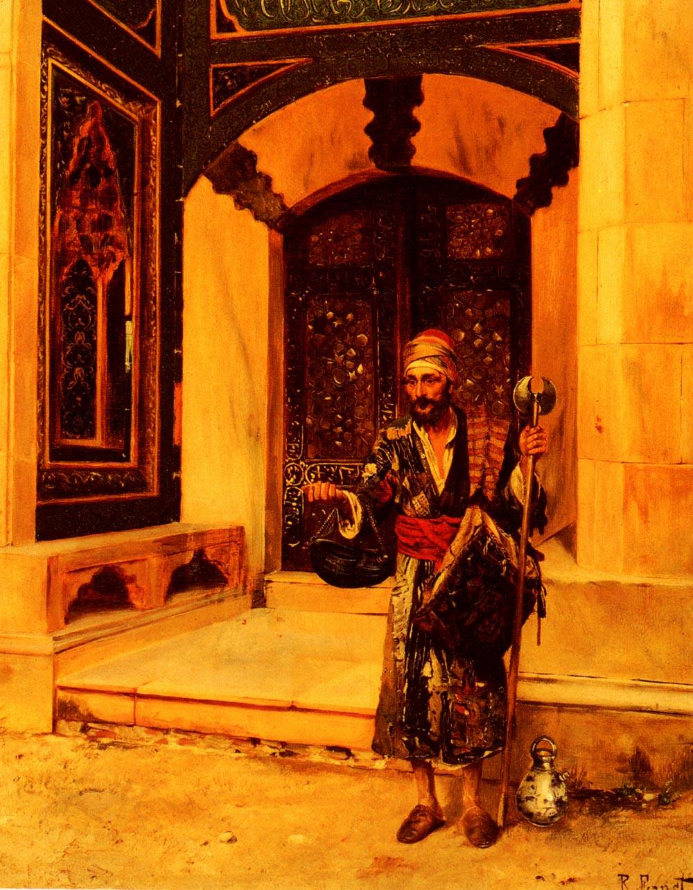 The Beggar | Rudolf Ernst | Oil Painting
