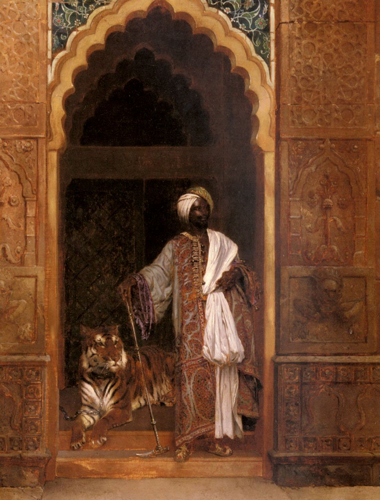 The Palace Guard | Rudolf Ernst | Oil Painting