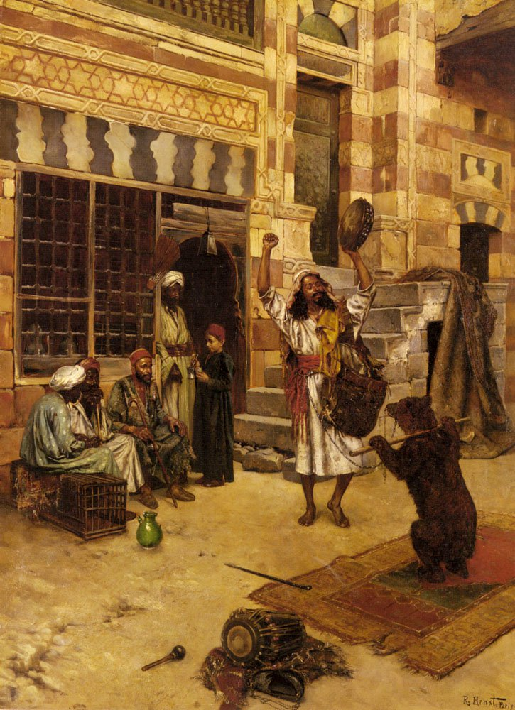 An Afternoon Show | Rudolf Ernst | Oil Painting