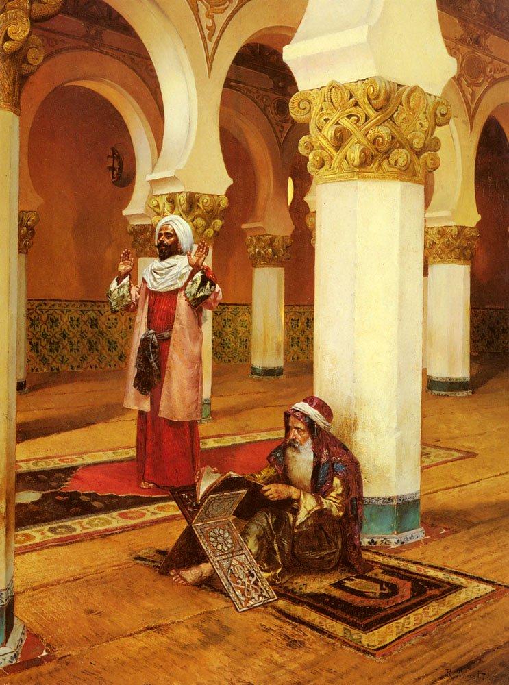 Evening Prayer | Rudolf Ernst | Oil Painting