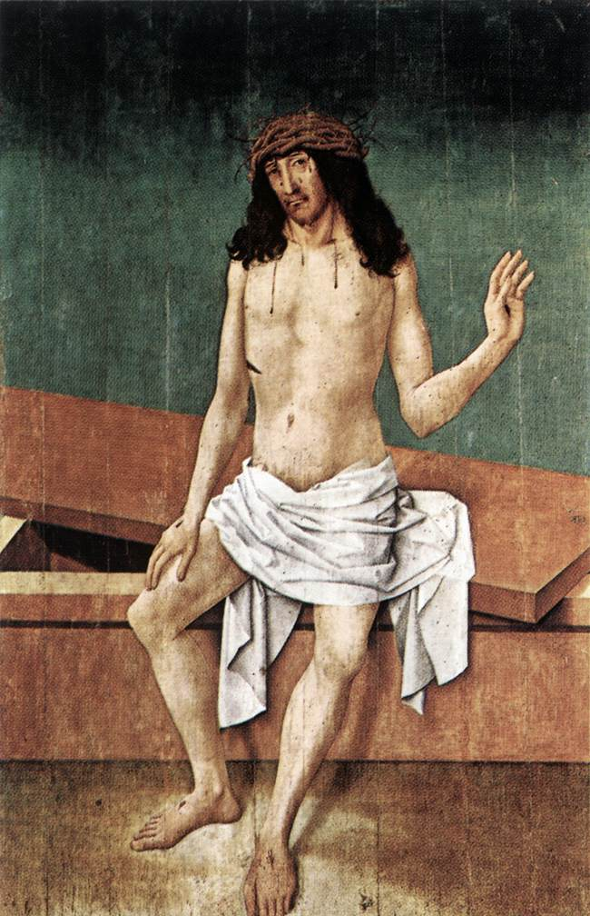 Christ With The Crown of Thorns | Rueland The Elder Frueauf | Oil Painting