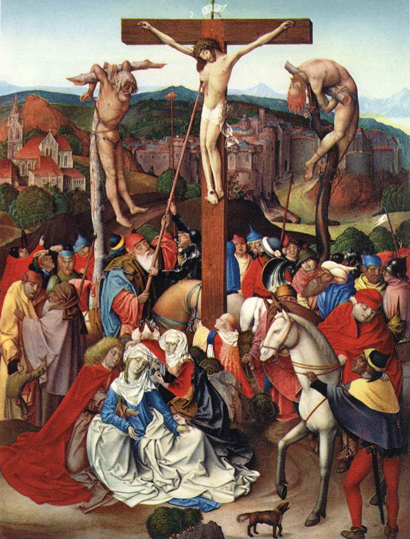 Crucifixion 1496 | Rueland The Younger Frueauf | Oil Painting