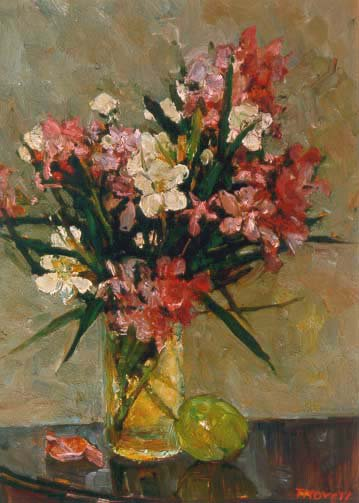 Bouquet | Aleksander Titovets 1960 | Oil Painting