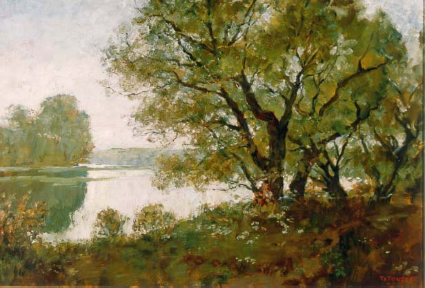 Summer Morning | Aleksander Titovets 1960 | Oil Painting