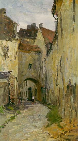 Old Vilnius 1954 | Aleksei Pavlovich Belykh 1923 | Oil Painting