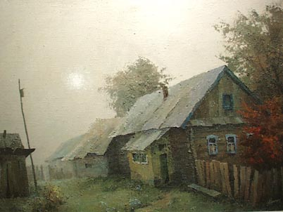 Foggy Morning | Alexandre Youdintsev Sasha 1953 | Oil Painting