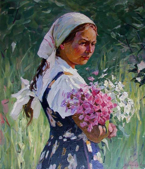 In the Summertime abt 1960 | Fedor Shapaev 1927 | Oil Painting