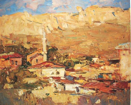 Noon At Bakhchisarai 1965 | Fedor Zakharov 1919-1994 | Oil Painting
