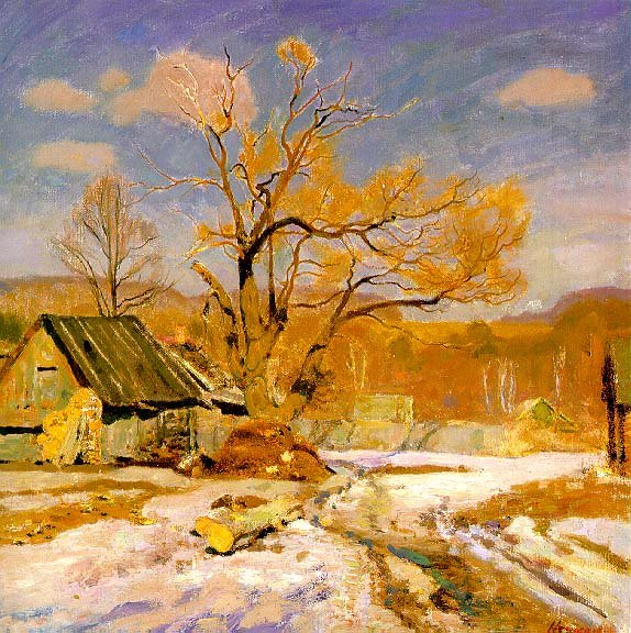 Early Spring | German Neznaikin | Oil Painting