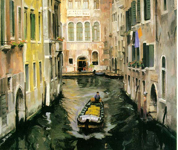 Gray Venice | Igori I Seredin 1928 | Oil Painting
