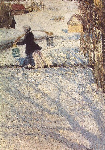 March Snow 1904 | Igor Grabar | Oil Painting
