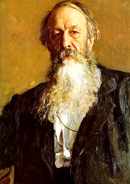 Portrait of Vladimir Stassov | Ilya Repin 1844-1930 | Oil Painting