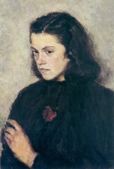 Katya Grigorieva's Portrait 1954 | Irina V Shevandronova 1928 | Oil Painting