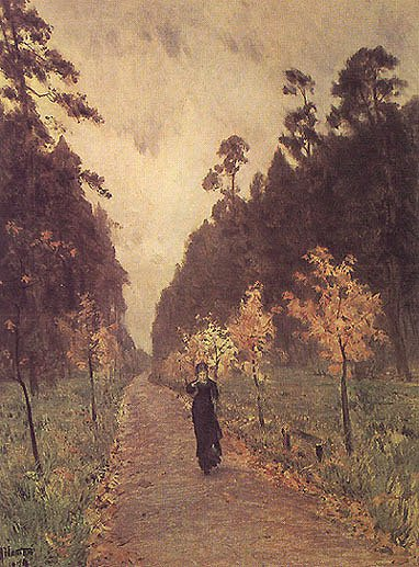 Autumn Day Sokolniky 1879 | Isaak Levitan 1860-1900 | Oil Painting