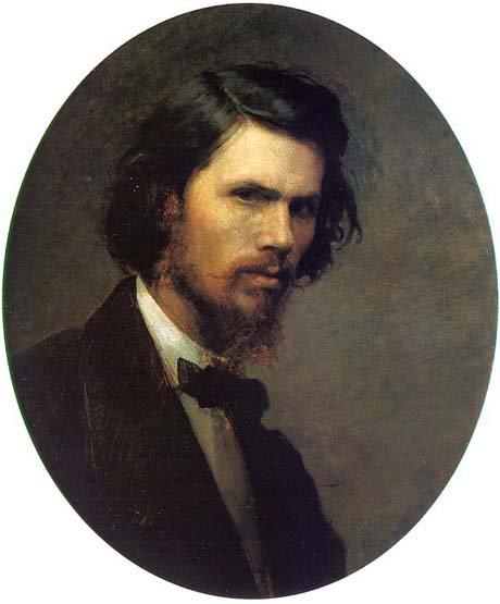 Study of a peasant 1882 | Ivan Kramskoy 1837-1887 | Oil Painting