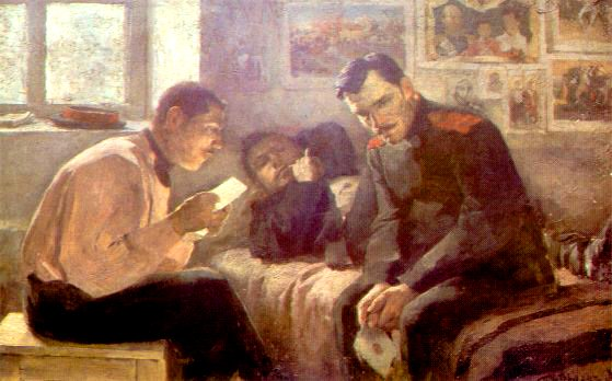 Letter from Home | Leonid Pasternak 1862-1945 | Oil Painting