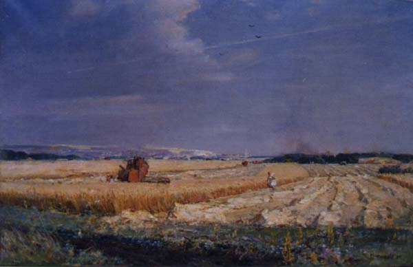 Native Land 1985 | Mikhail Tkachev 1912 | Oil Painting