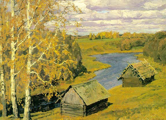 Autumn Gold | Nikita Petrovich Fedosov 1939 | Oil Painting