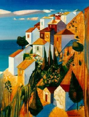 Greece 1995 | Nikolai Romanov | Oil Painting