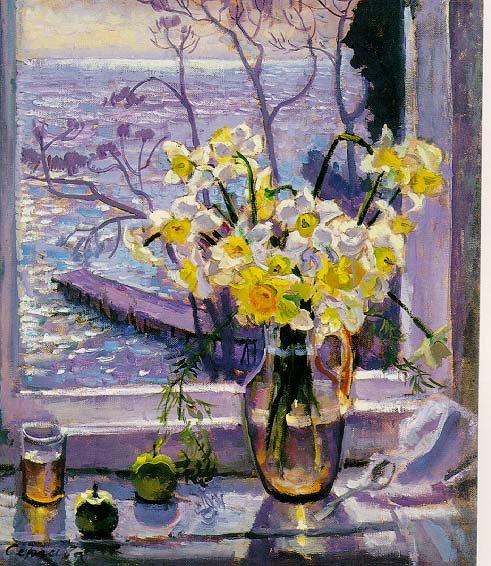 Narsysses   Nina Sergeeva   Oil Painting