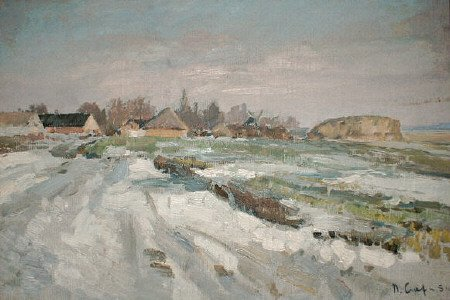 Winter | Petr D Sleta | Oil Painting