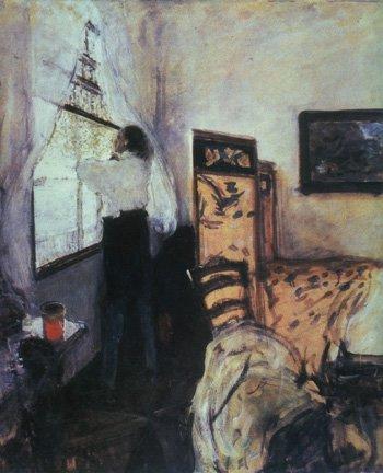 Petr I in Mon Plaisir | Valentin A Serov 1865-1911 | Oil Painting