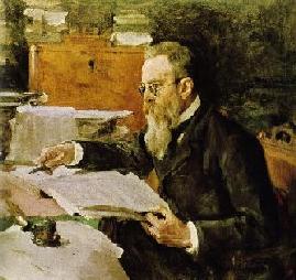 Rimsky-Korsakov | Valentin A Serov 1865-1911 | Oil Painting