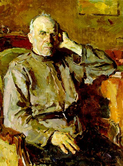 Grandfather | Vassily I Zabashta 1911 | Oil Painting