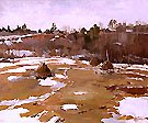 Towards the Spring 1986   Vladimir Krantz 1913   Oil Painting